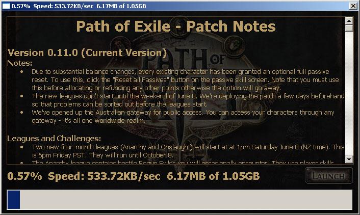 Path of Exile: Патч 0.11.0 установлен - Новости - Форумы на www.Diablo1.ru